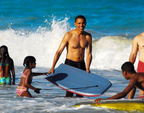 obama-shirtless